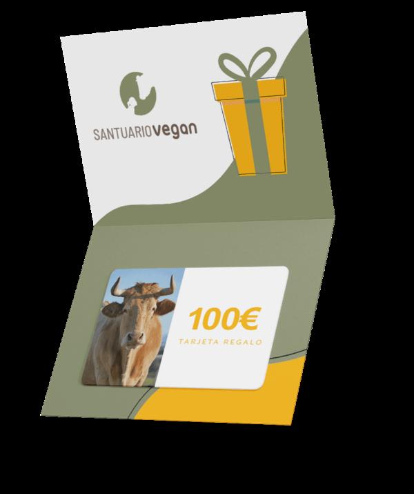 santuario vegan tarjeta regalo 100 euros