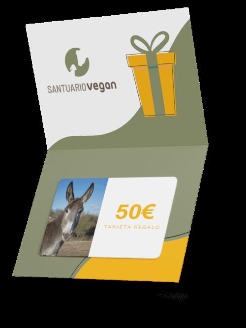 santuario vegan tarjeta regalo 50 euros